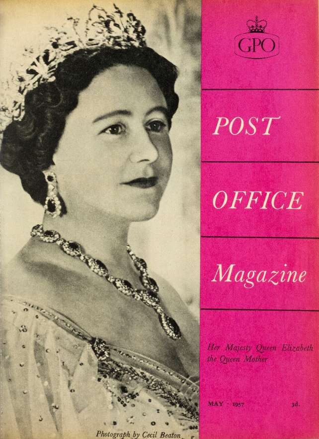 Front cover Post Office Magazine. May 1957